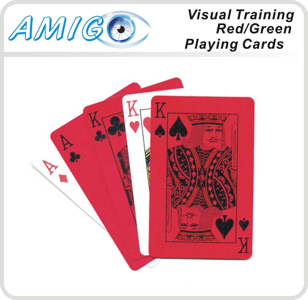Red/Green Playing Cards